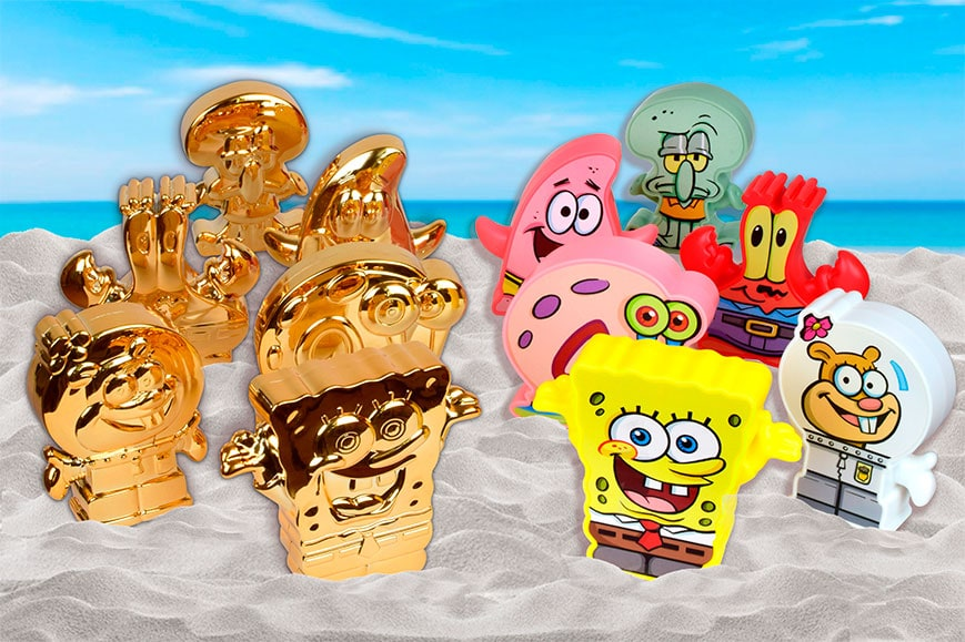 Plastic toys and promotional examples